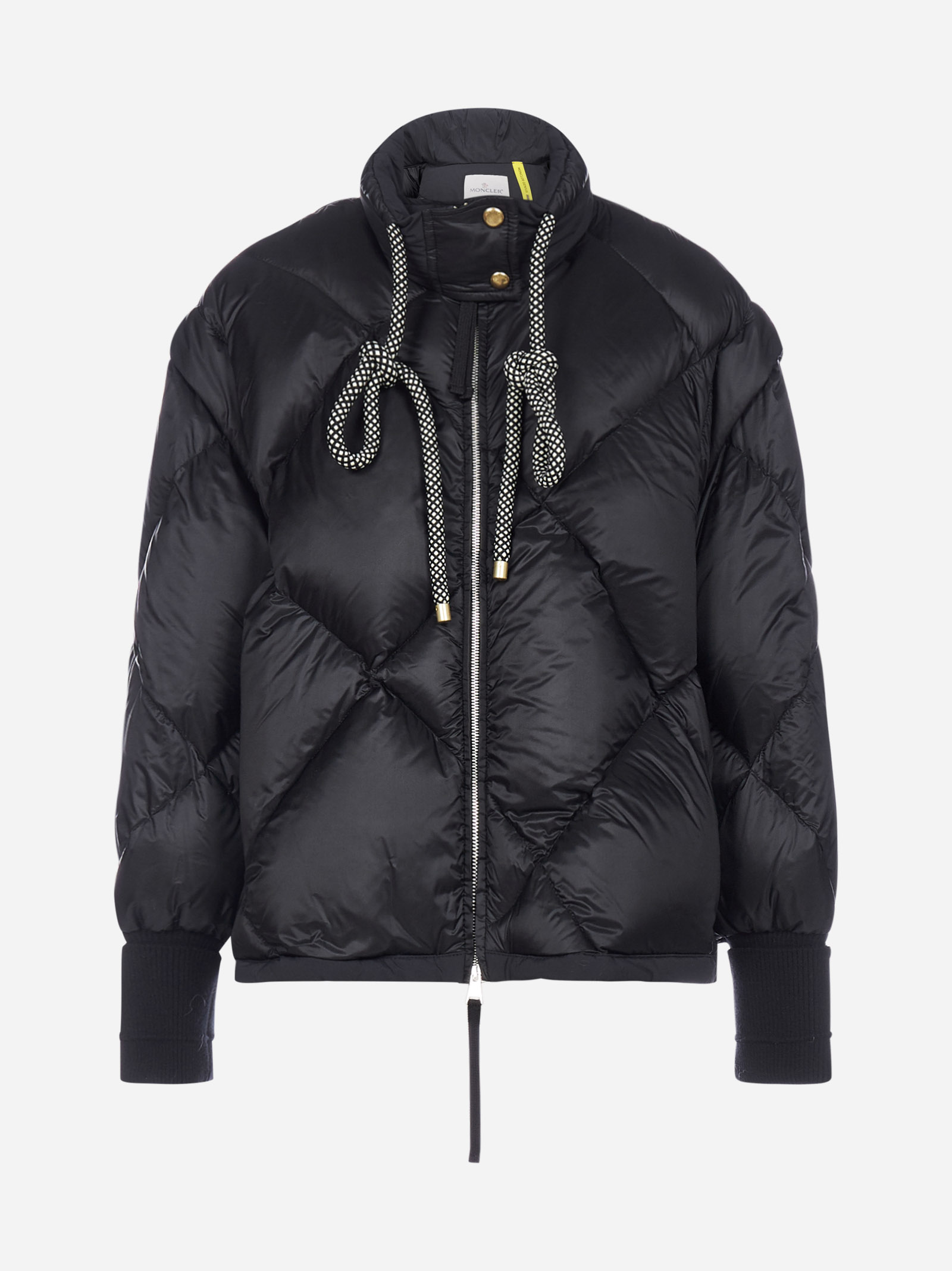 Moncler Downs FRANCESCA QUILTED NYLON DOWN JACKET