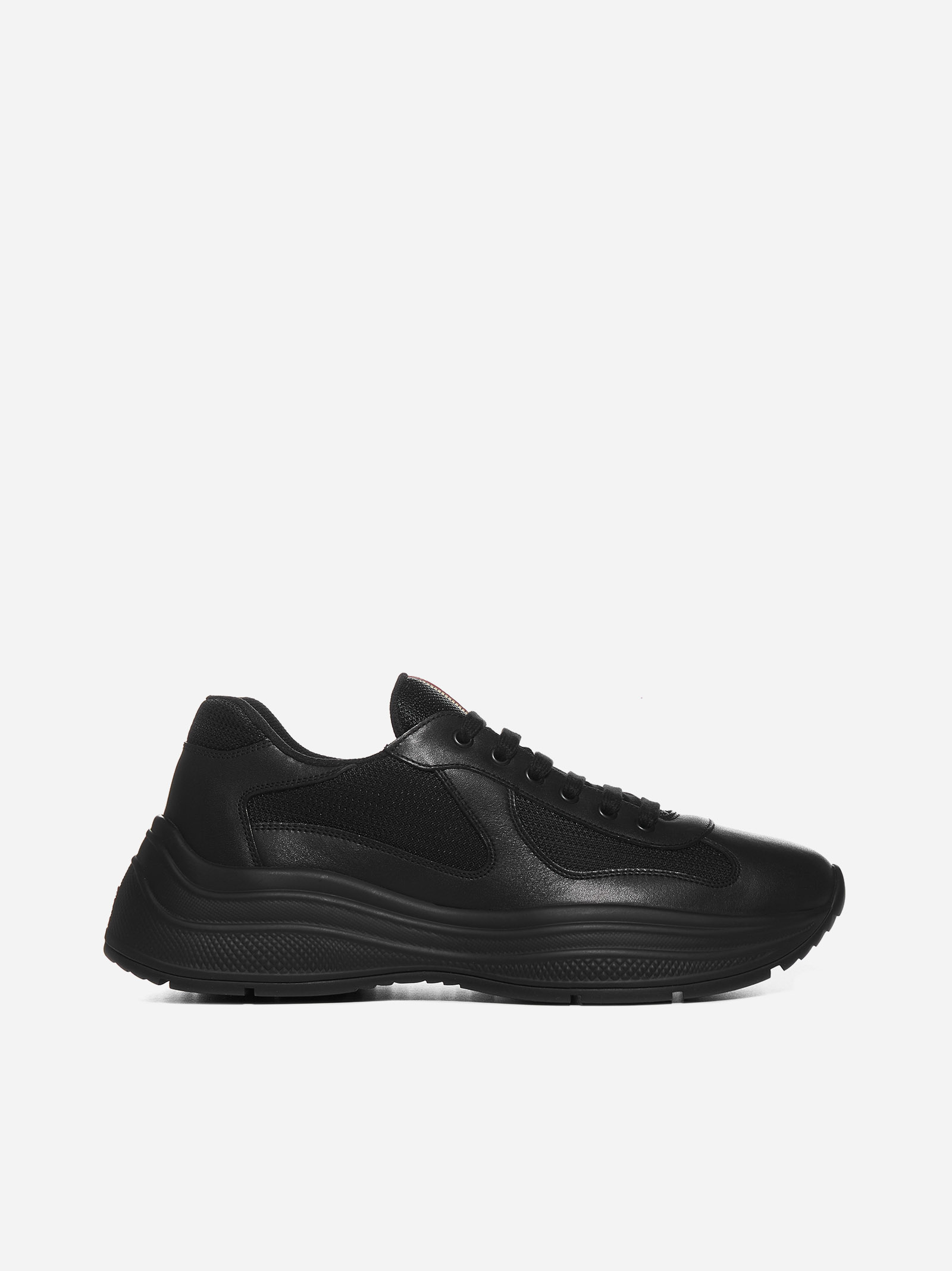 Prada Leathers SNEAKERS AMERICA'S CUP IN MESH E PELLE