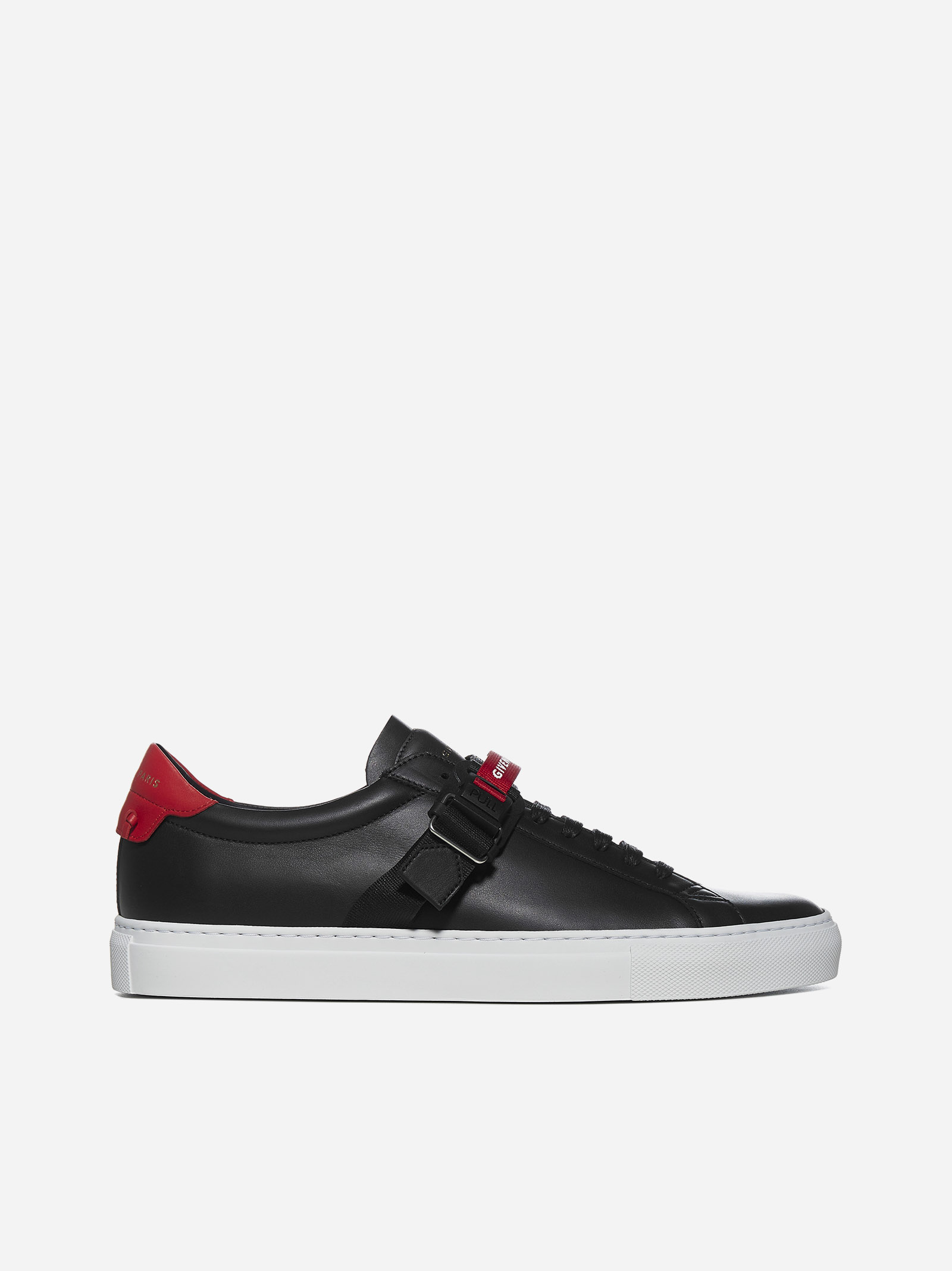 Givenchy Shoes Urban Street strap-detail leather sneakers