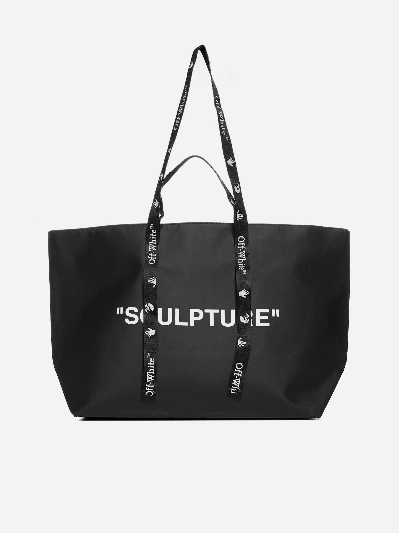 Off-White SCULPTURE NYLON COMMERCIAL TOTE BAG