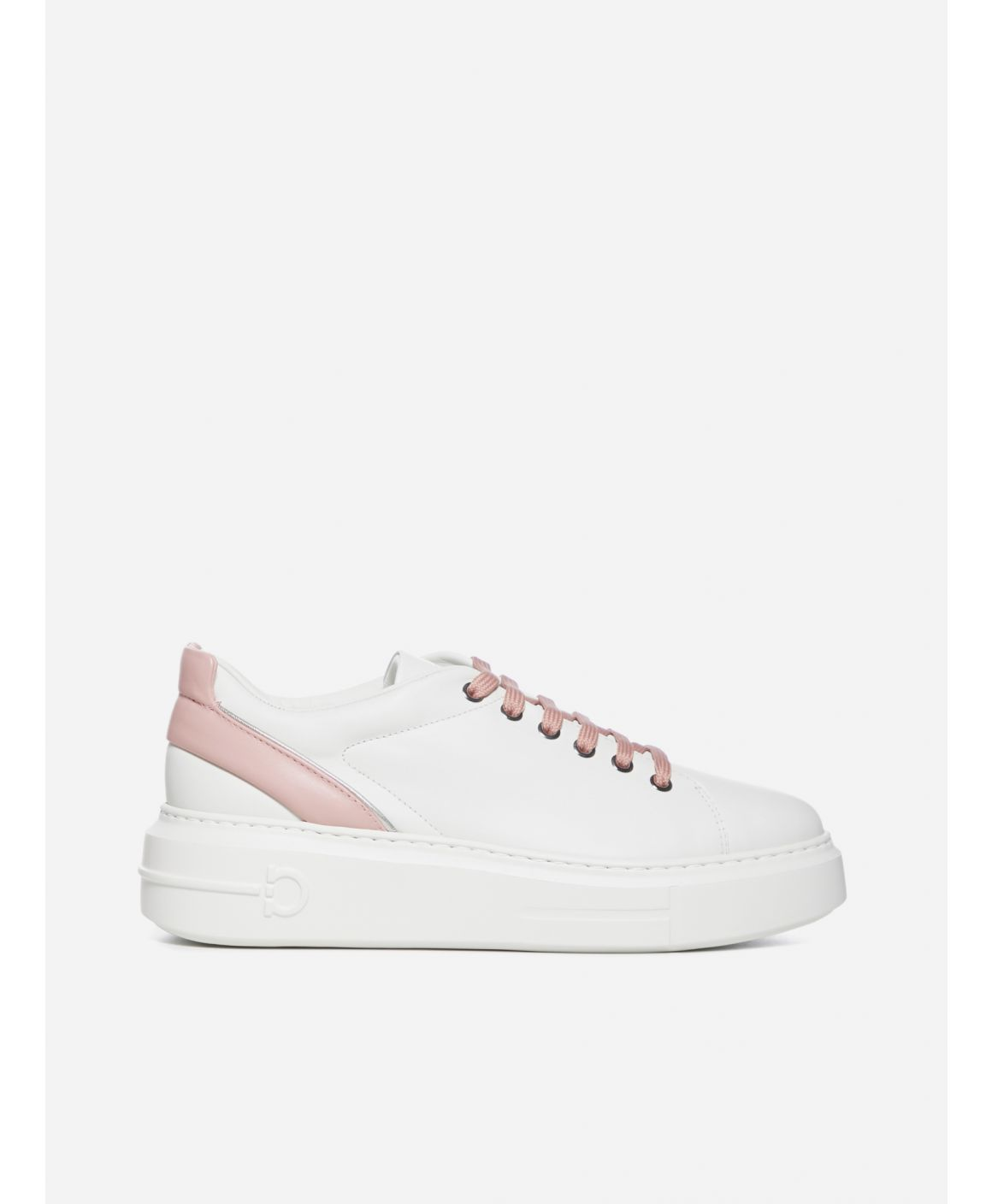 Senise Gancini leather sneakers