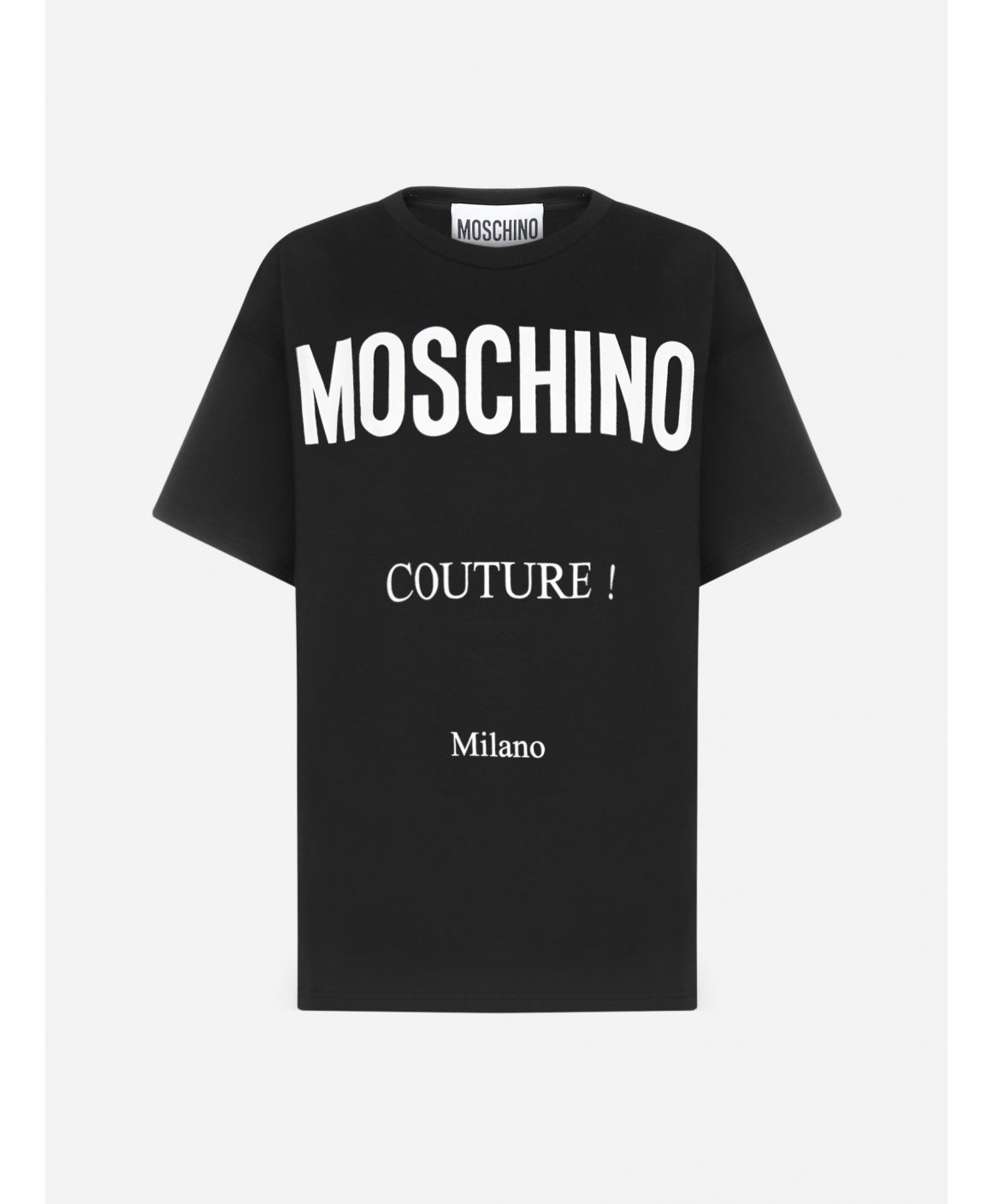 Couture cotton oversized t-shirt