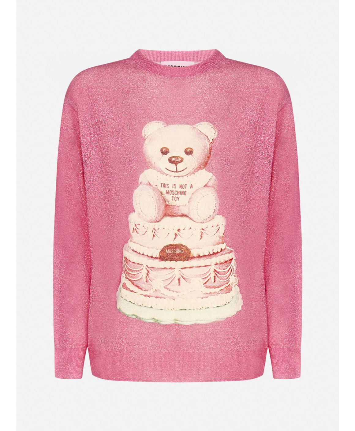 Cake Teddy Bear wool sweater