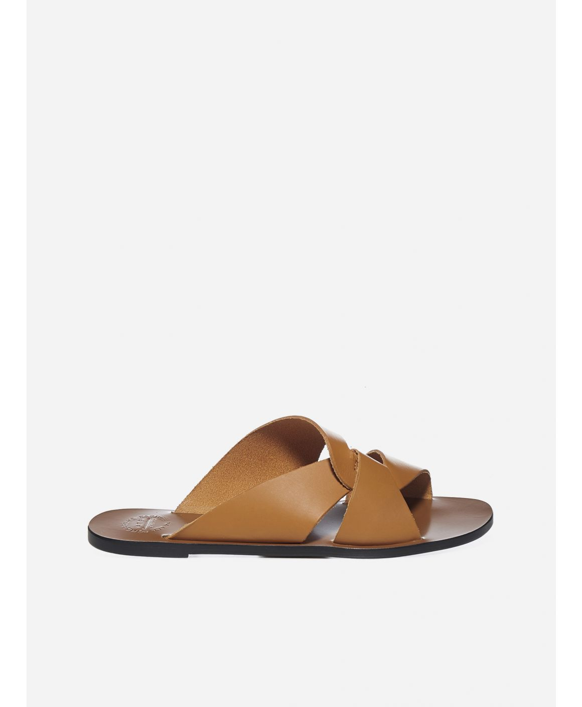 Allai leather flat sandals