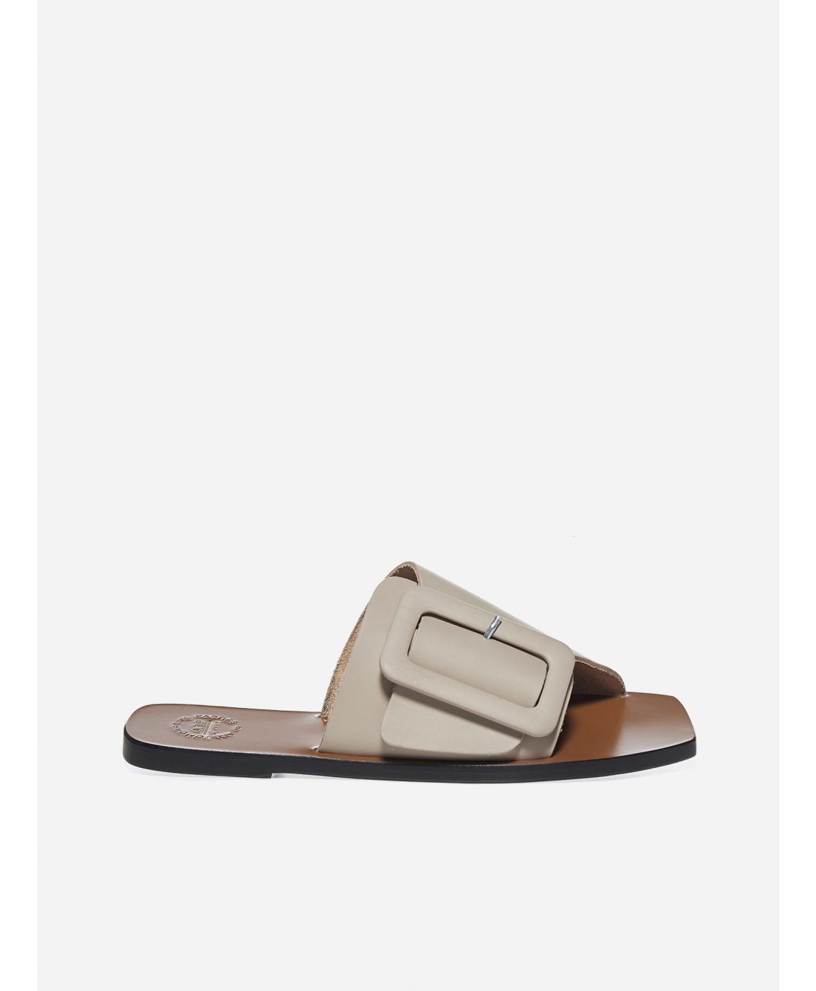 Ceci leather flat sandals