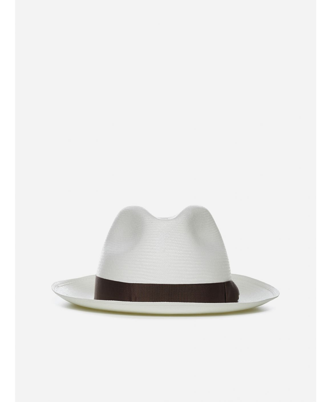 Fine medium brim Panama hat