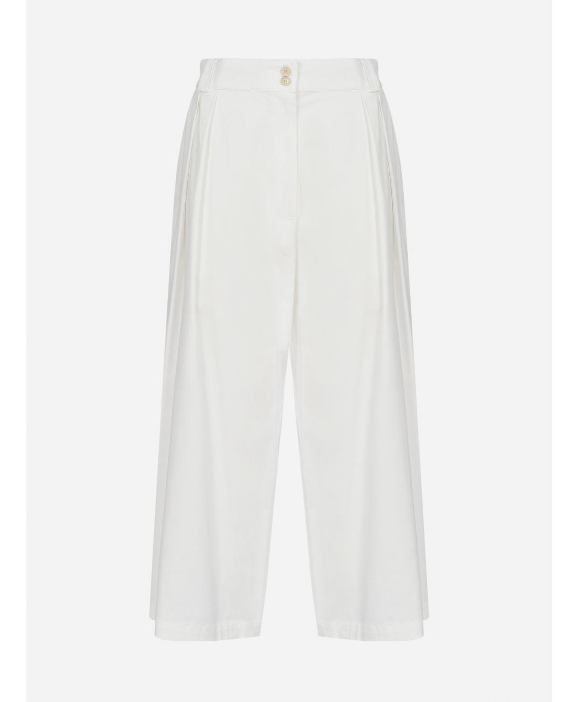 Corsica stretch cotton trousers