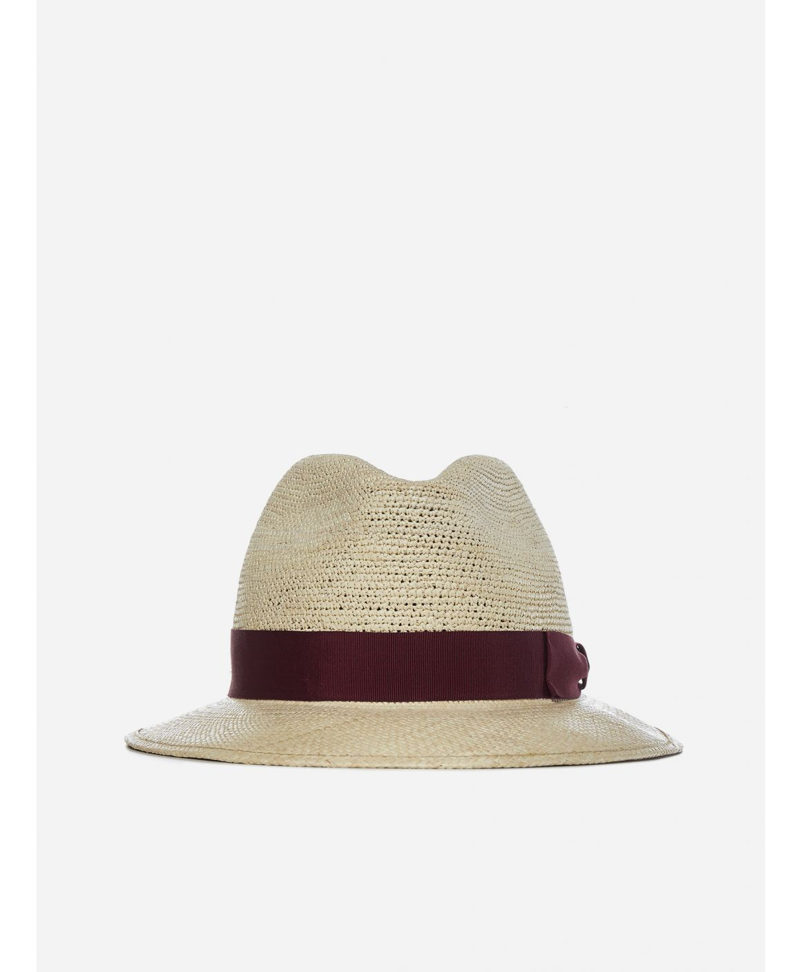 Medium brim semi-crochet Panama hat