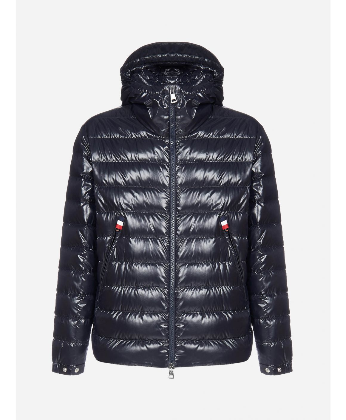 Blesle quilted nylon hooded down jacket