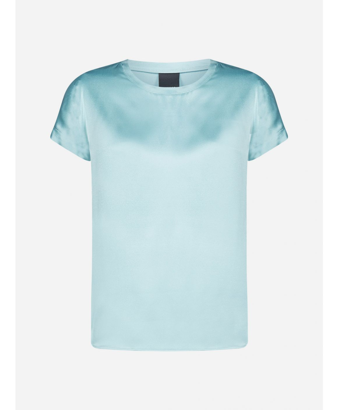 Farida silk satin t-shirt
