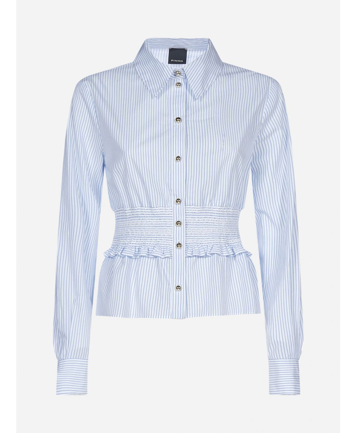 Macilento striped cotton shirt