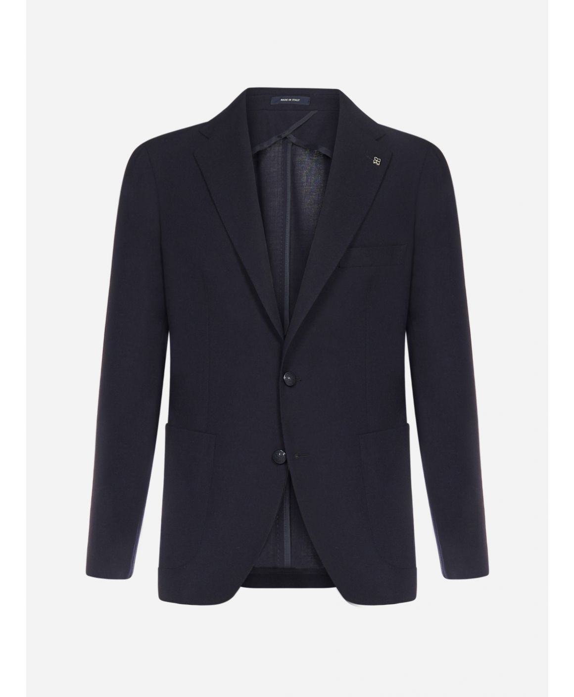 Virgin wool and cotton blazer