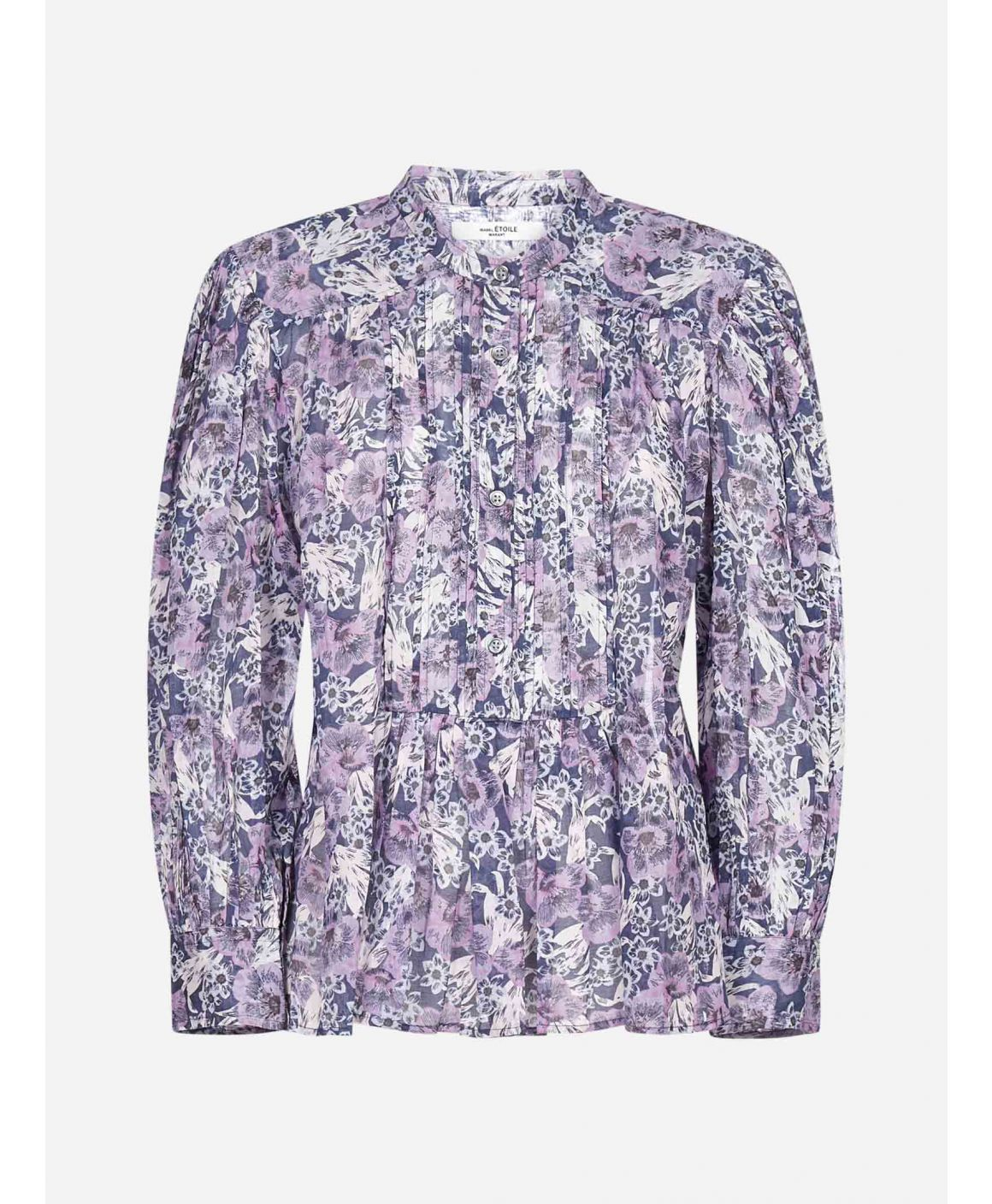 Adigra floral print cotton shirt