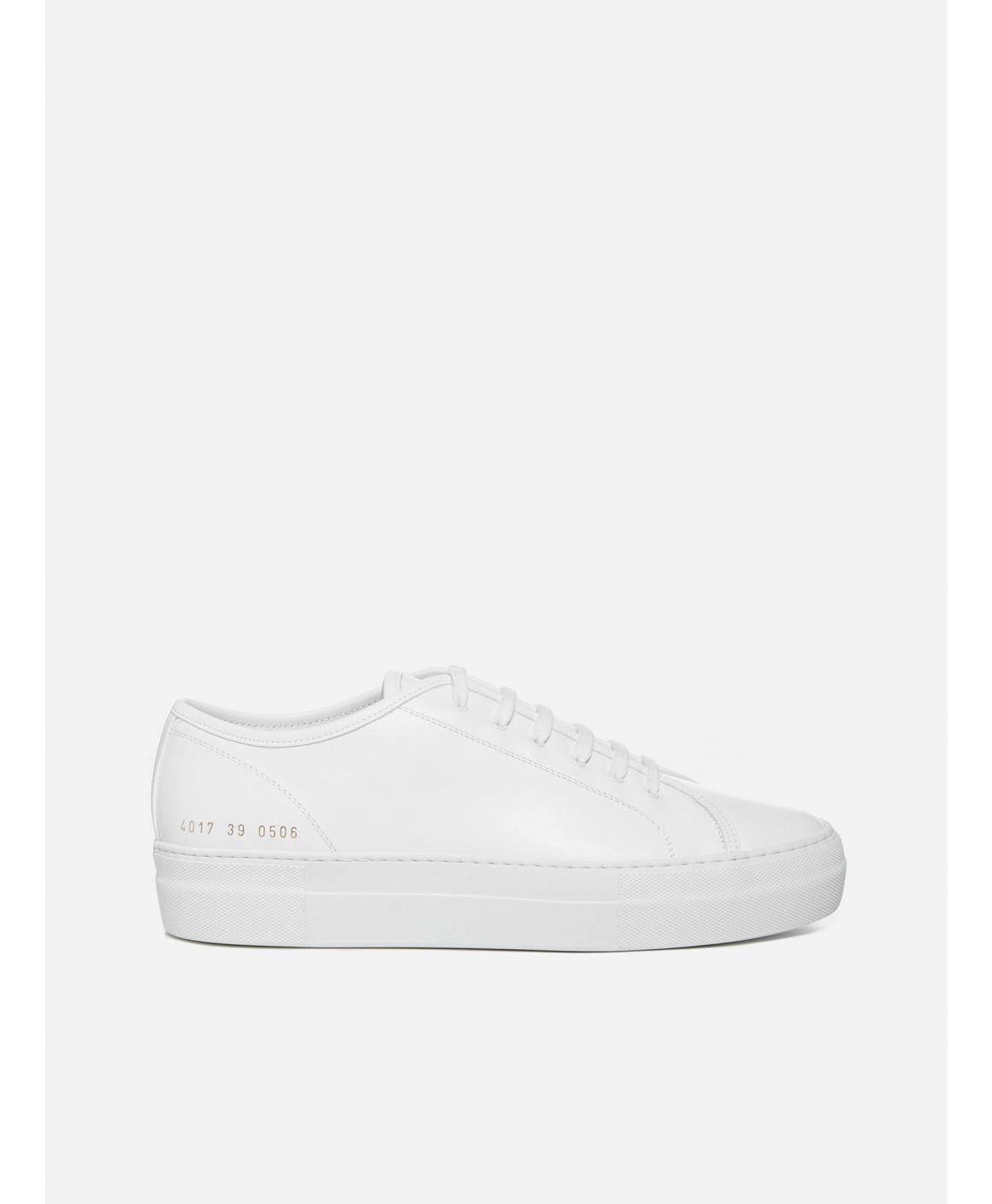 Tournament low-top leather sneakers