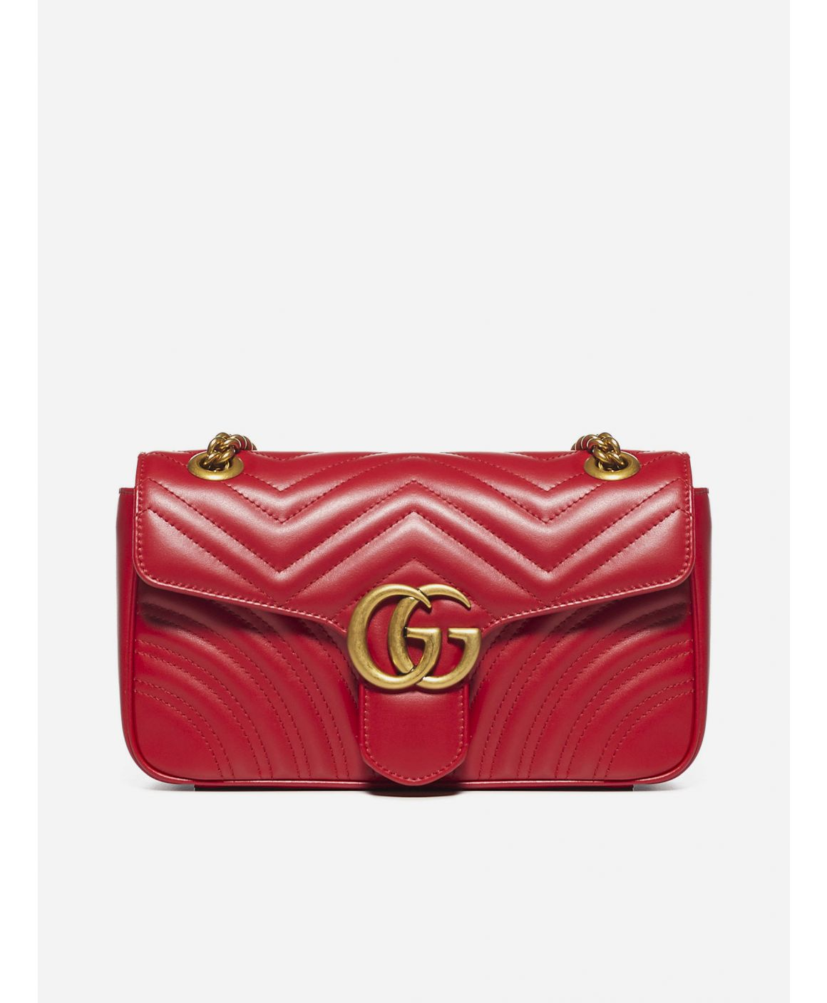 GG Marmont quilted leather small bag