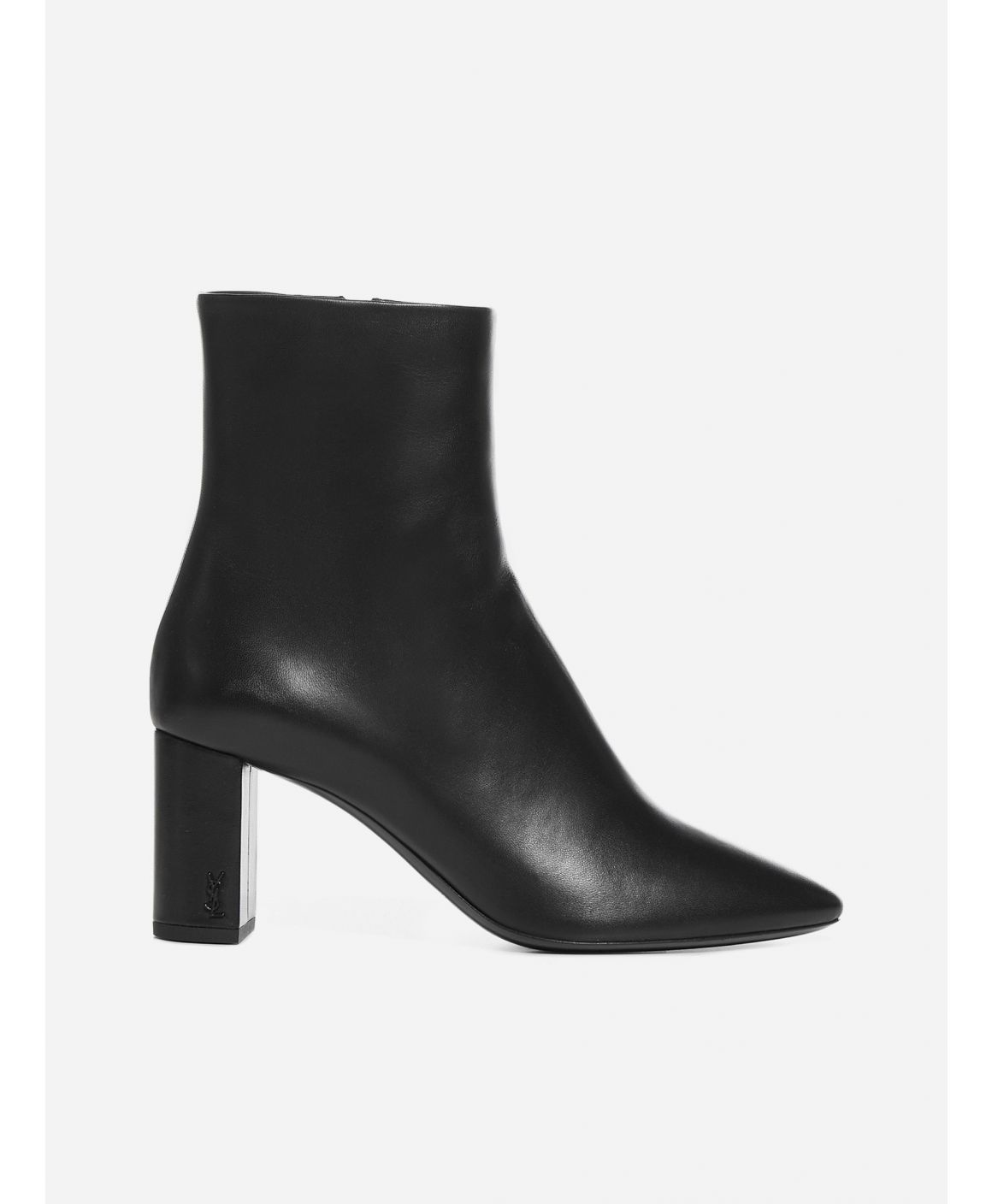 Lou monogram leather ankle boots