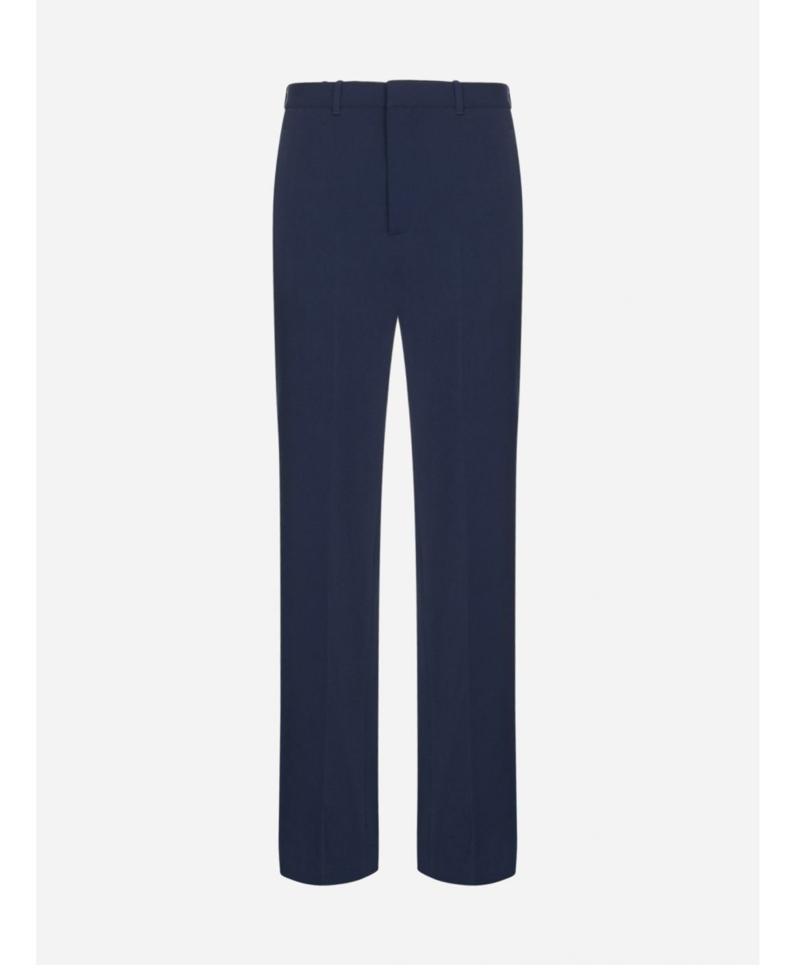 Logo wool-blend tailored trousers