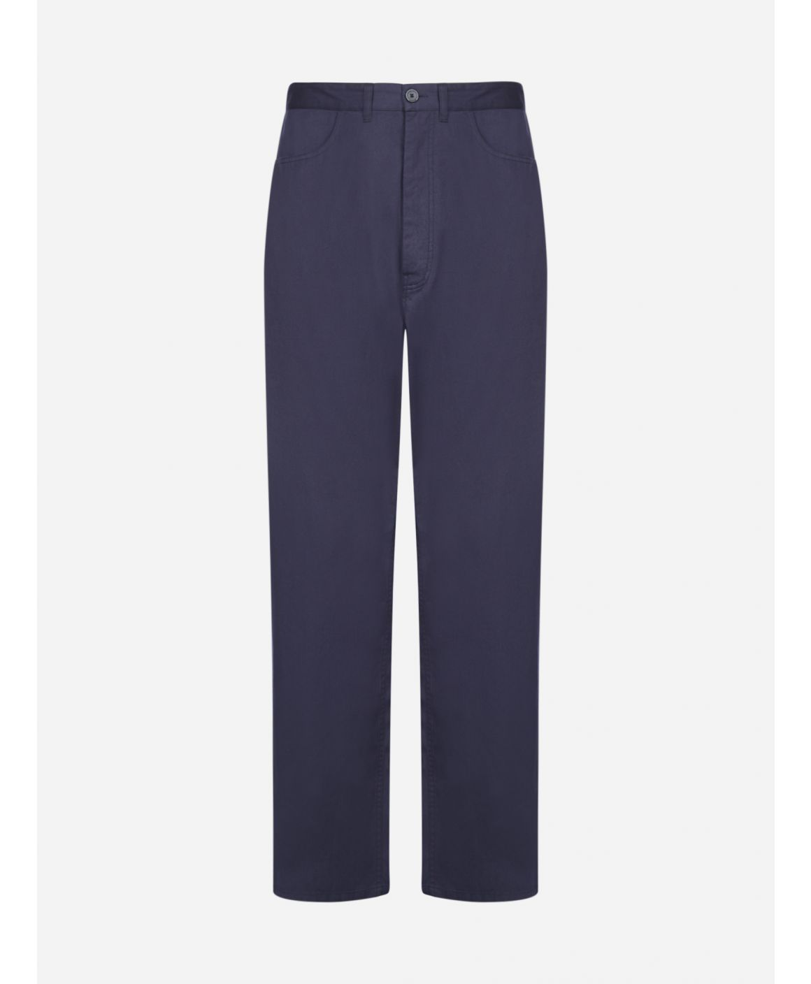 Cotton baggy trousers