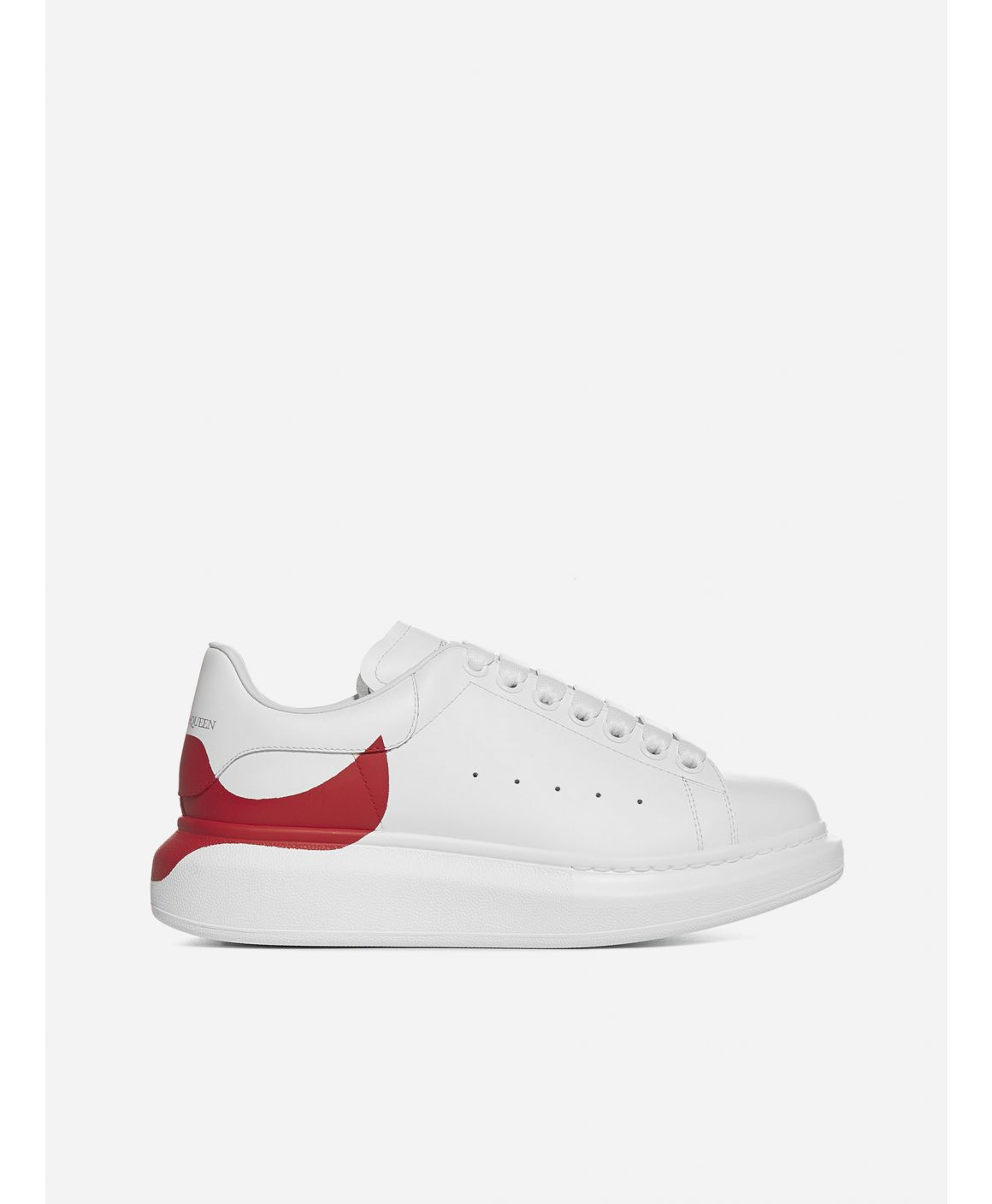 Oversize leather sneakers