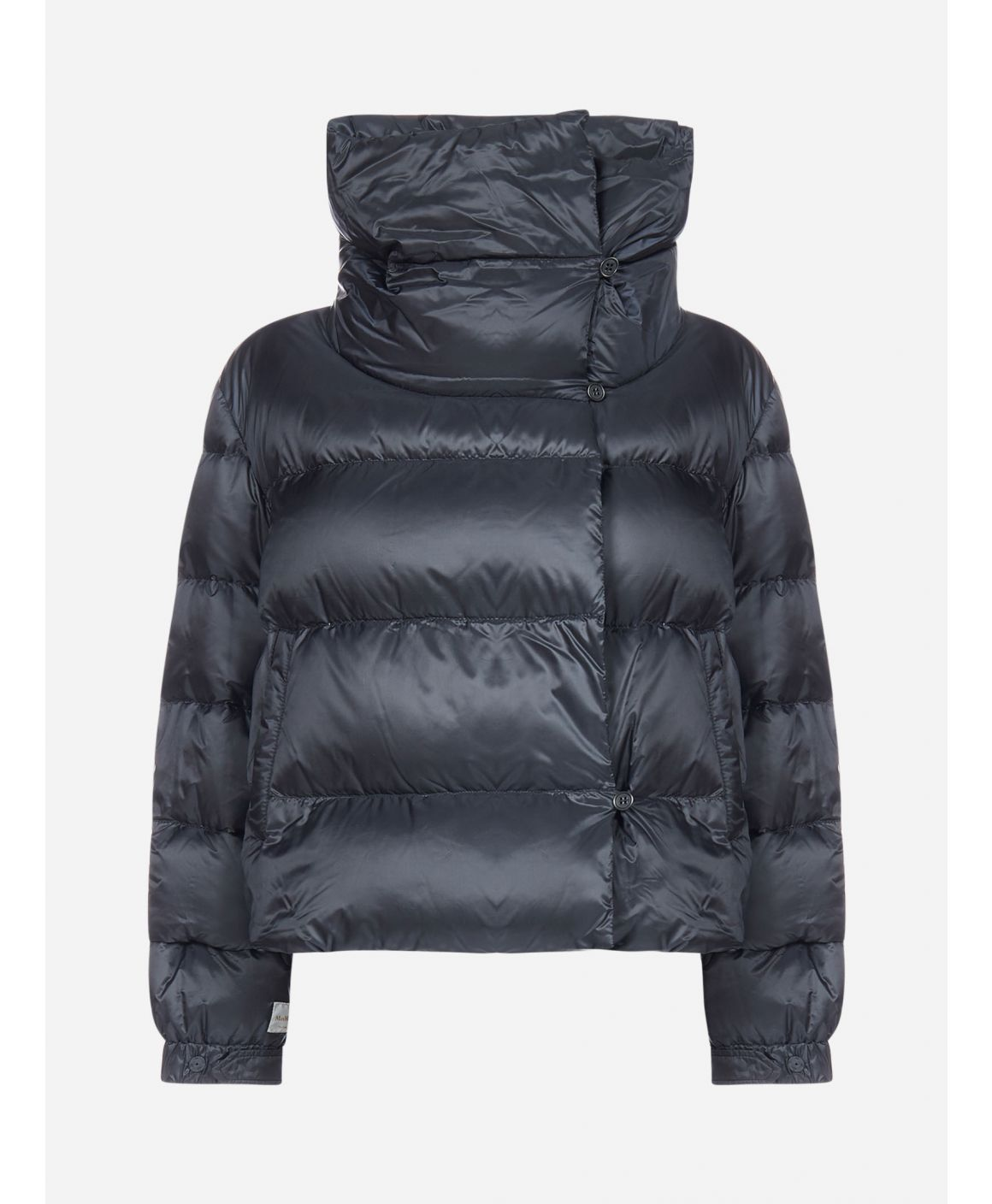 Seiada quilted nylon short down jacket