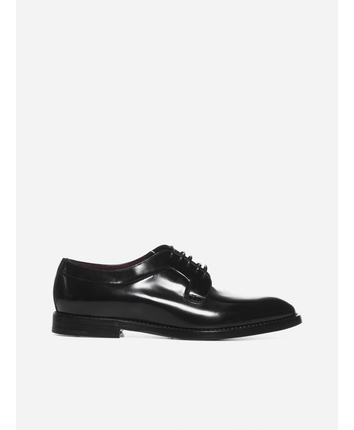 Giotto leather derby shoes