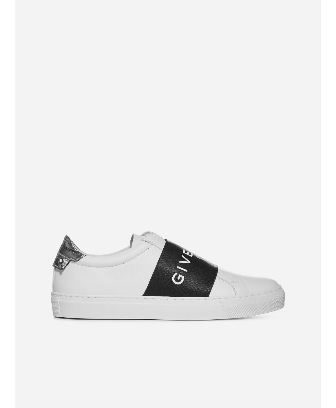Urban Street logo-band leather low-top sneakers