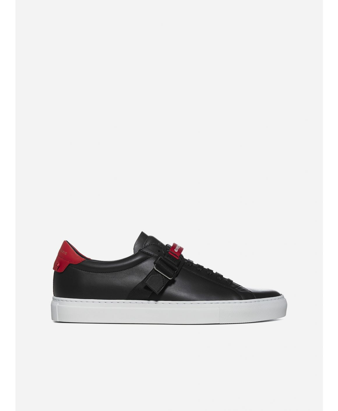 Urban Street strap-detail leather sneakers
