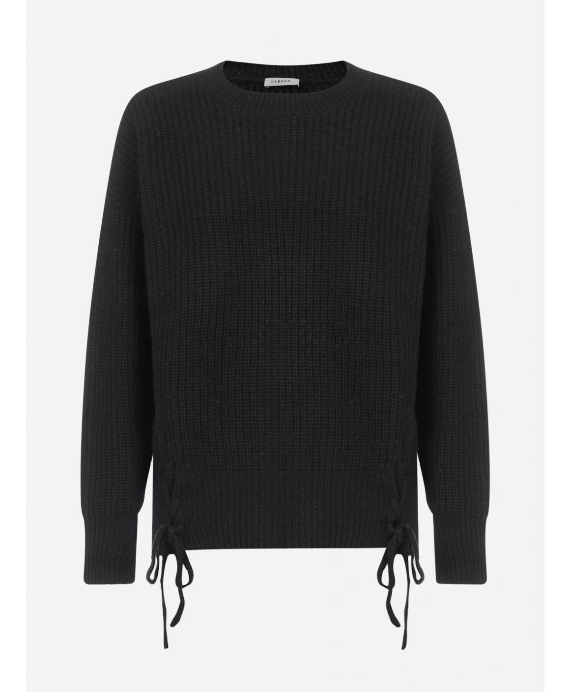 Leccio wool, yak and cashmere sweater