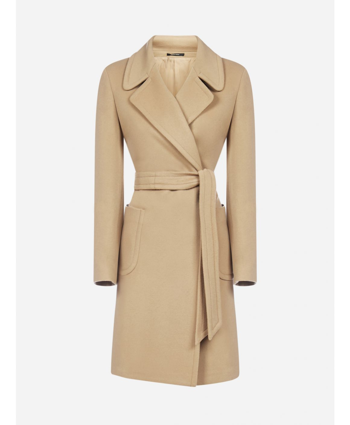 Dolly wool and cashmere coat