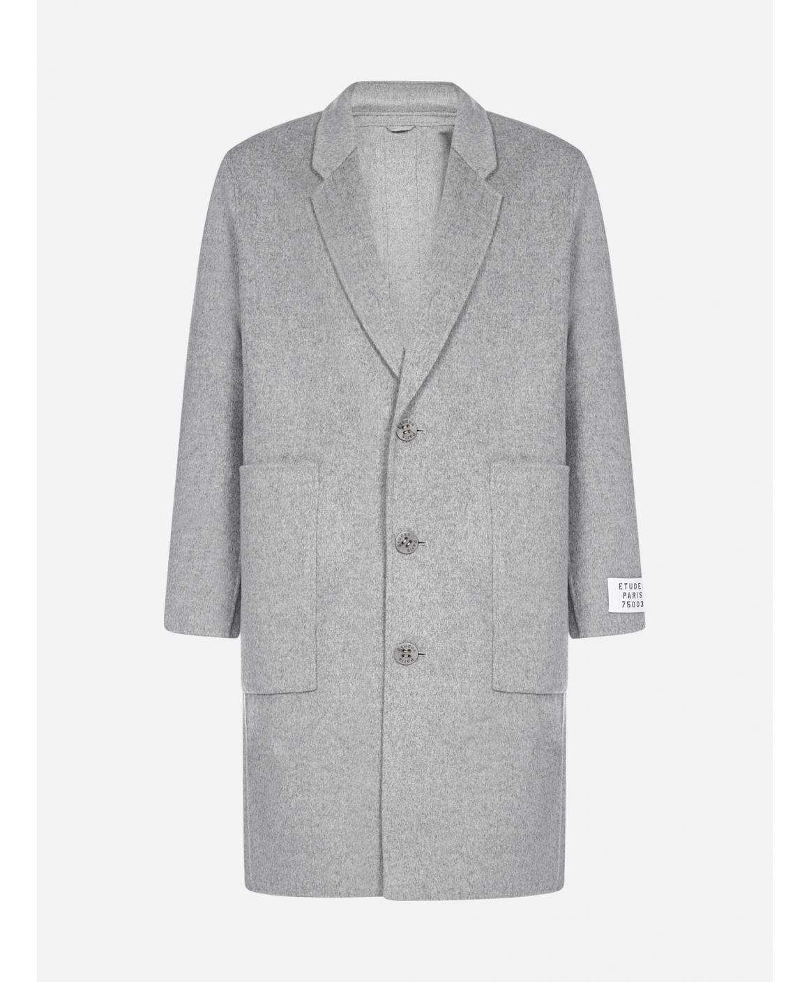 Archeolgy wool and cashmere coat