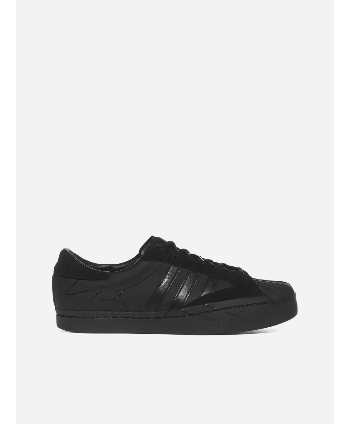 Yohji Star x Adidas leather and suede sneakers