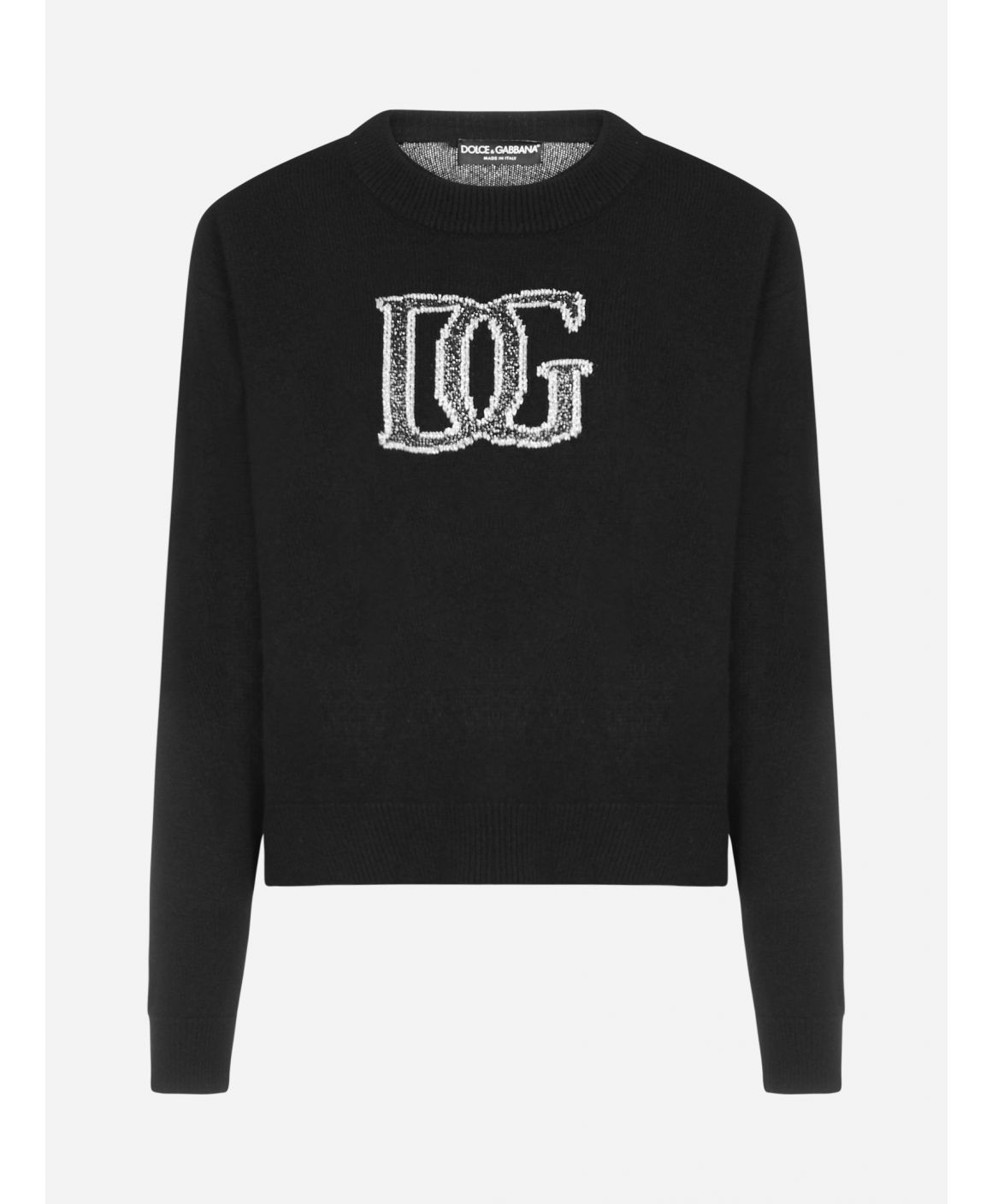 Logo wool blend sweater