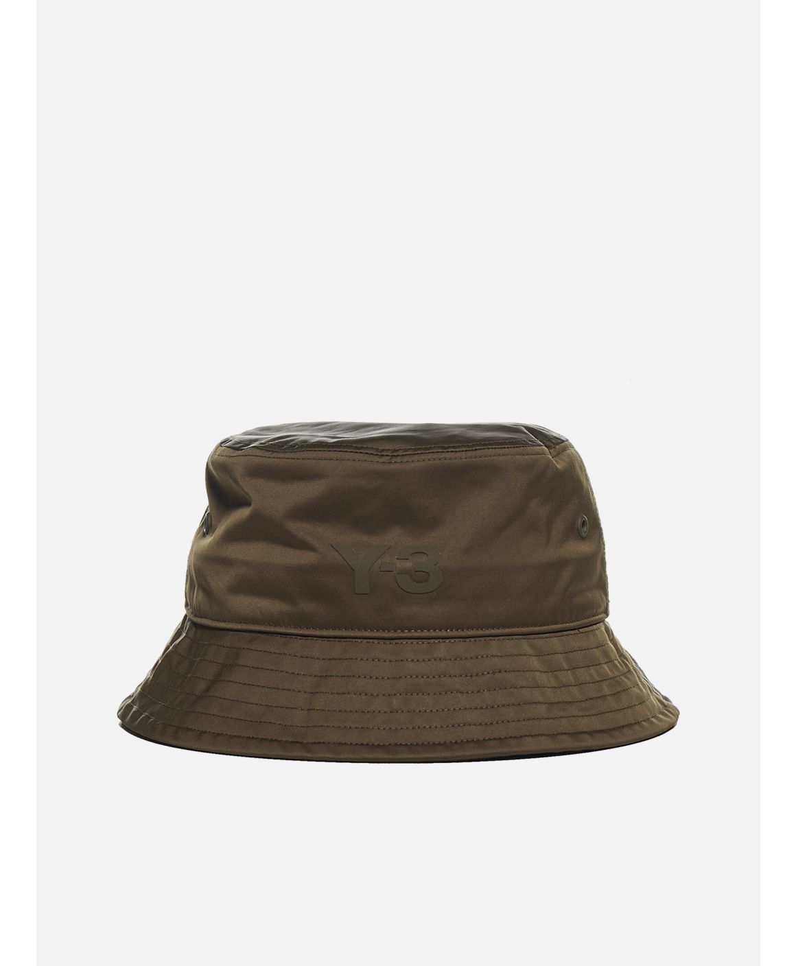 Logo nylon bucket hat