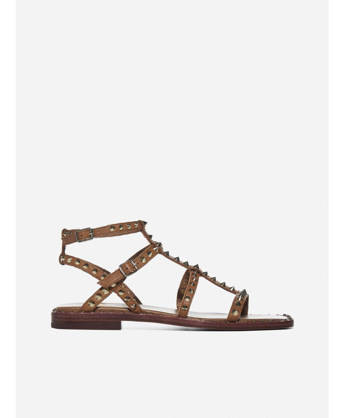 Maeva studded leather sandals