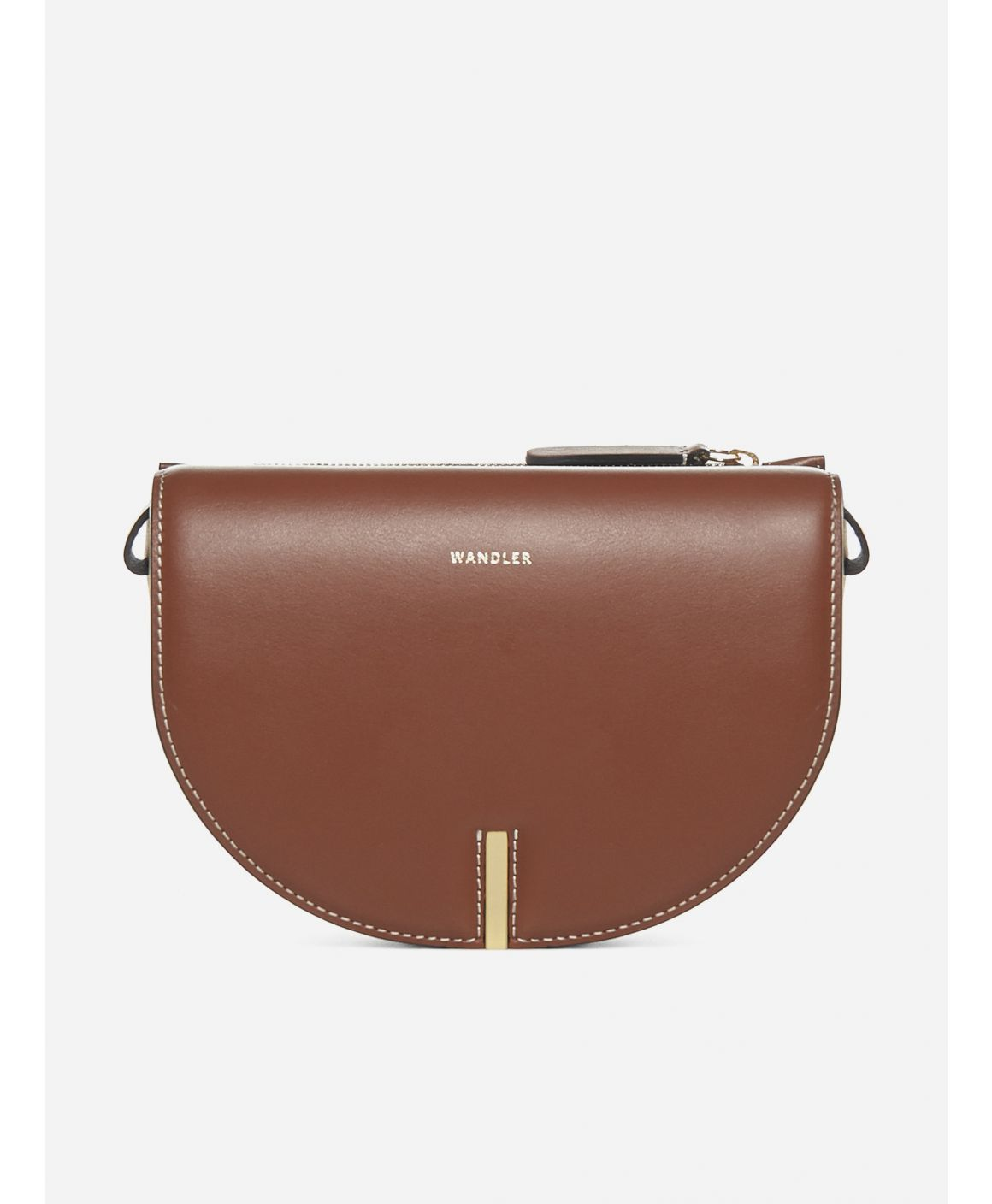 Nana leather shoulder bag
