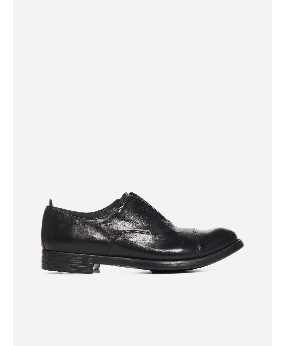 Hive 4 leather derby shoes