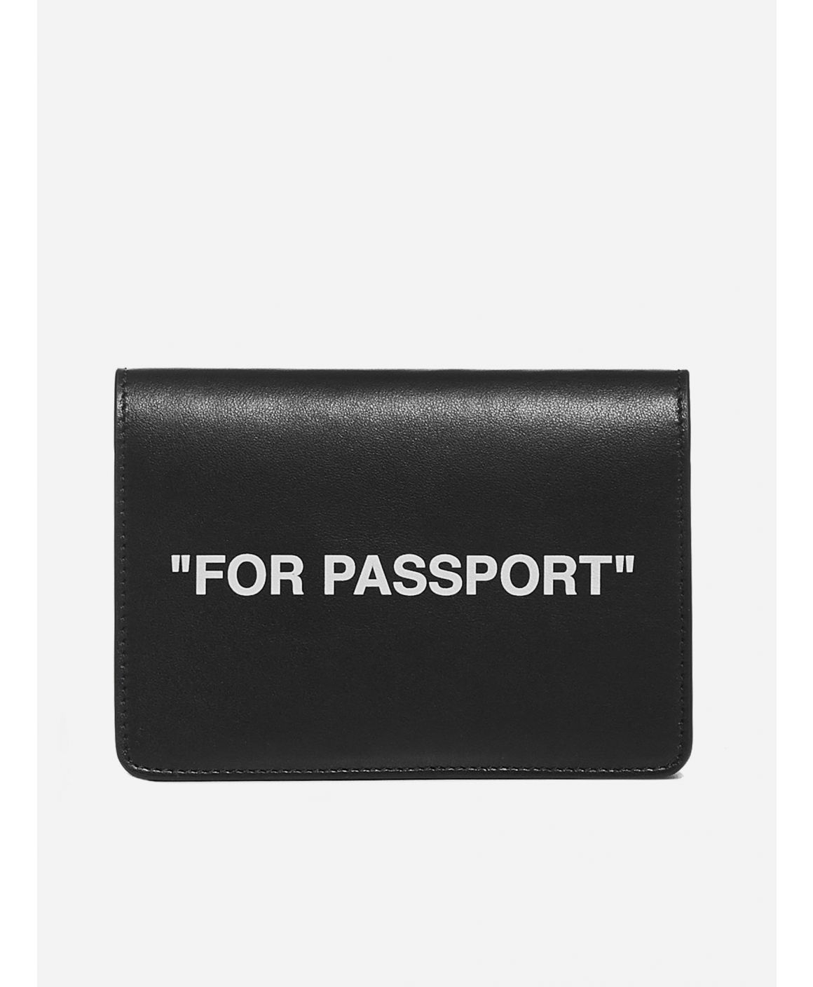 """For Passport"" leather card holder"