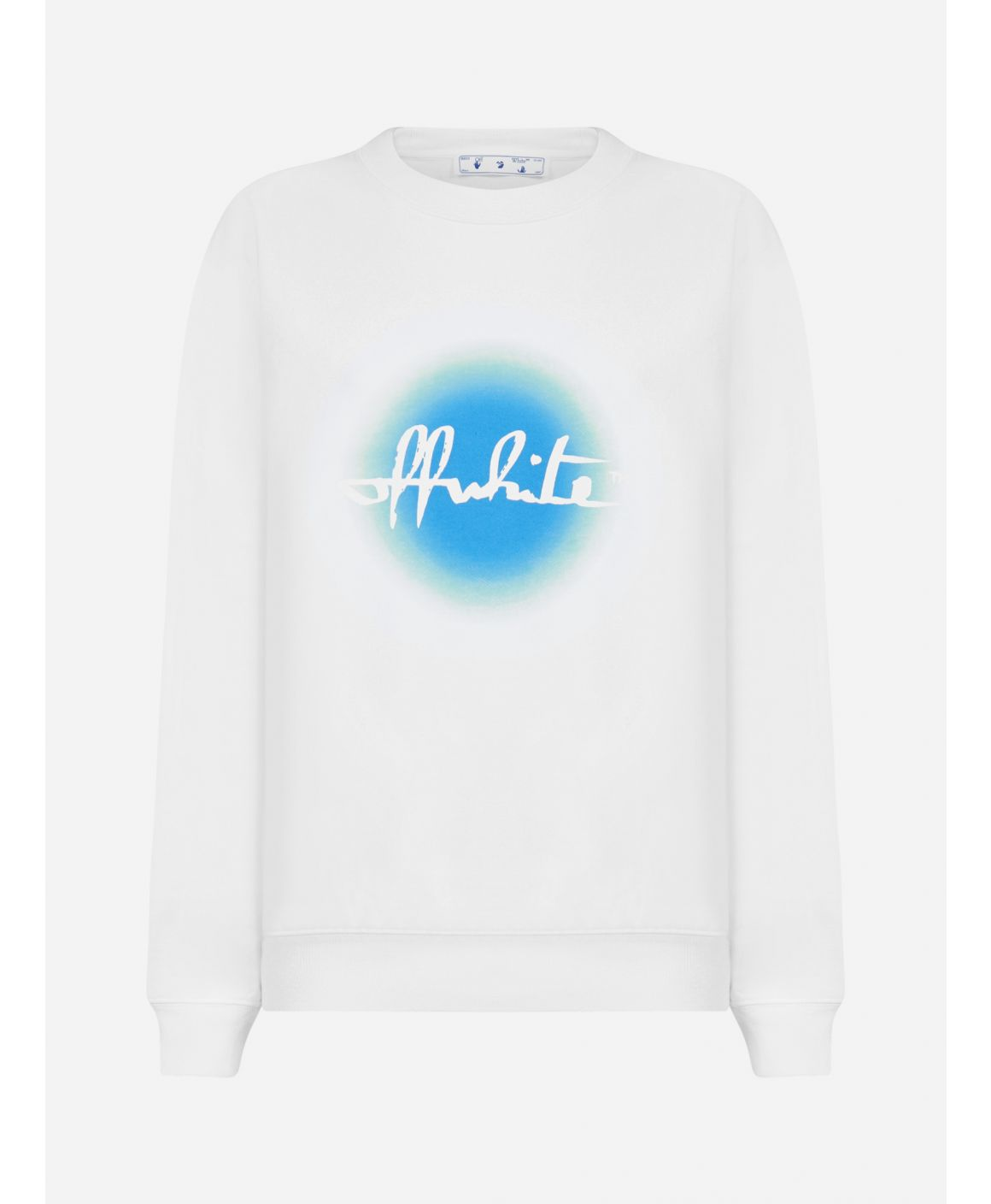 Gradient logo cotton sweatshirt