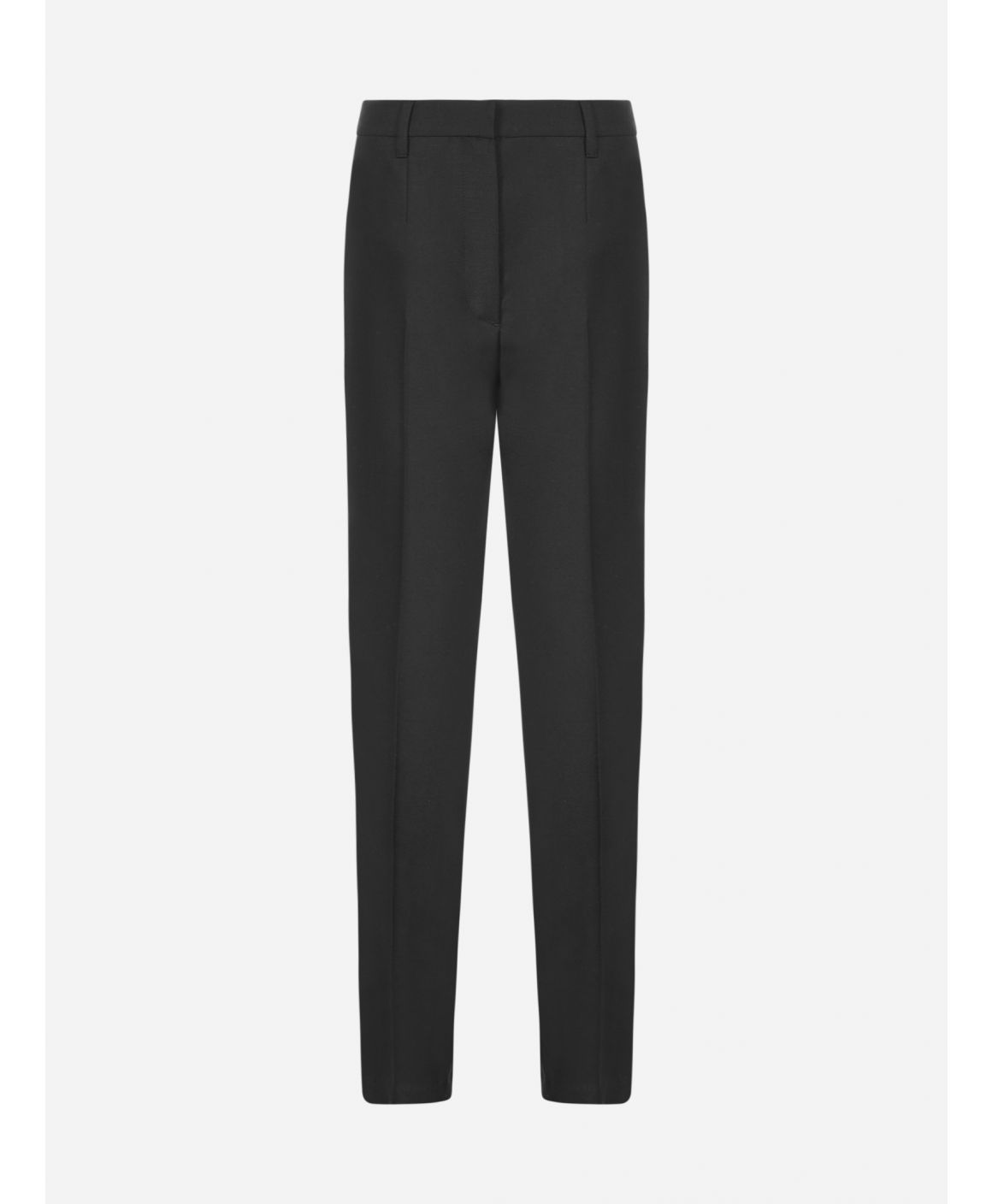 Tuxedo mohair and wool trousers
