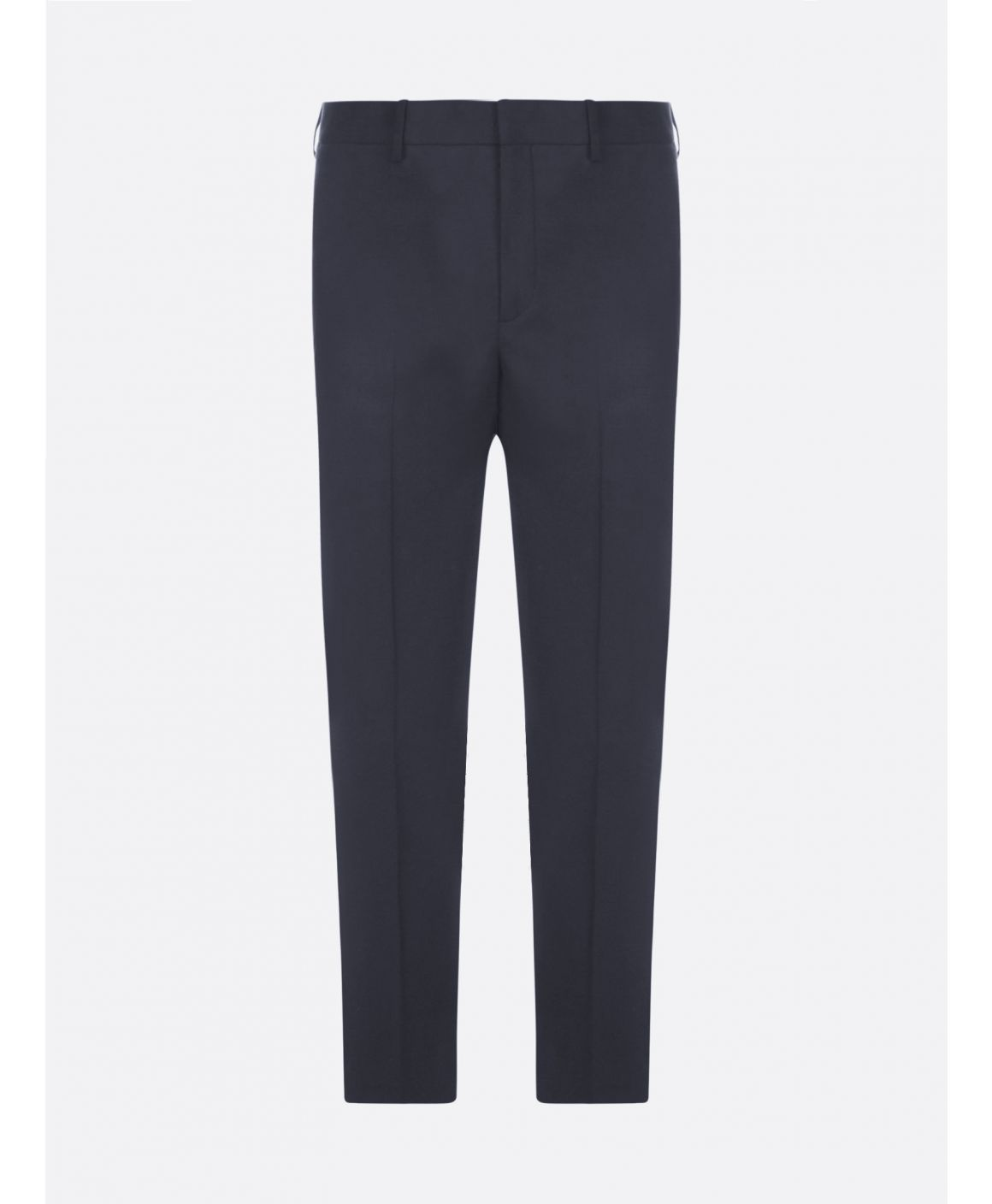Stretch wool-blend trousers