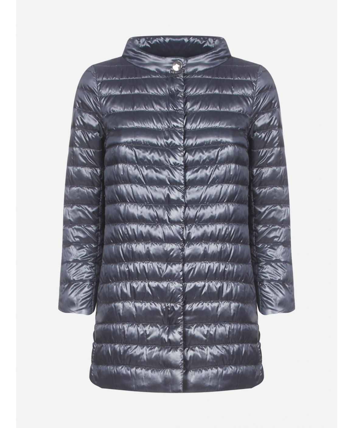 Rossella quilted nylon medium down jacket