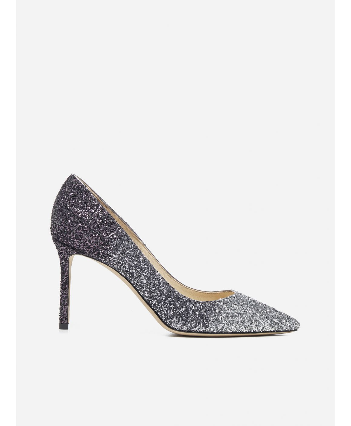 Romy 85 glitter degrade' fabric pumps