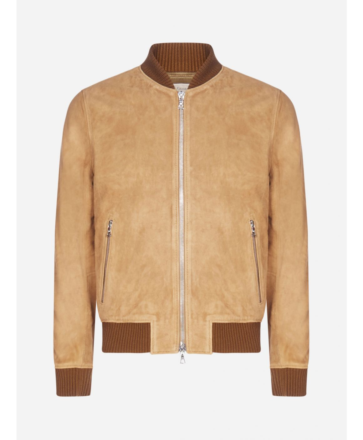Todd suede bomber jacket