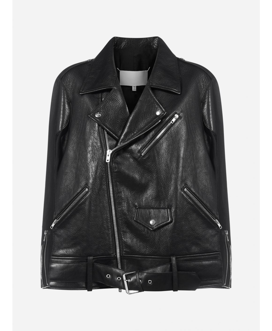 Memori of leather biker jacket