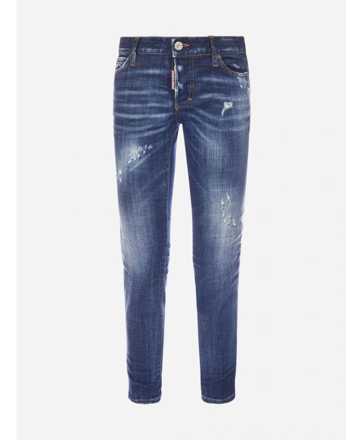 Jennifer Cropped stretch denim jeans