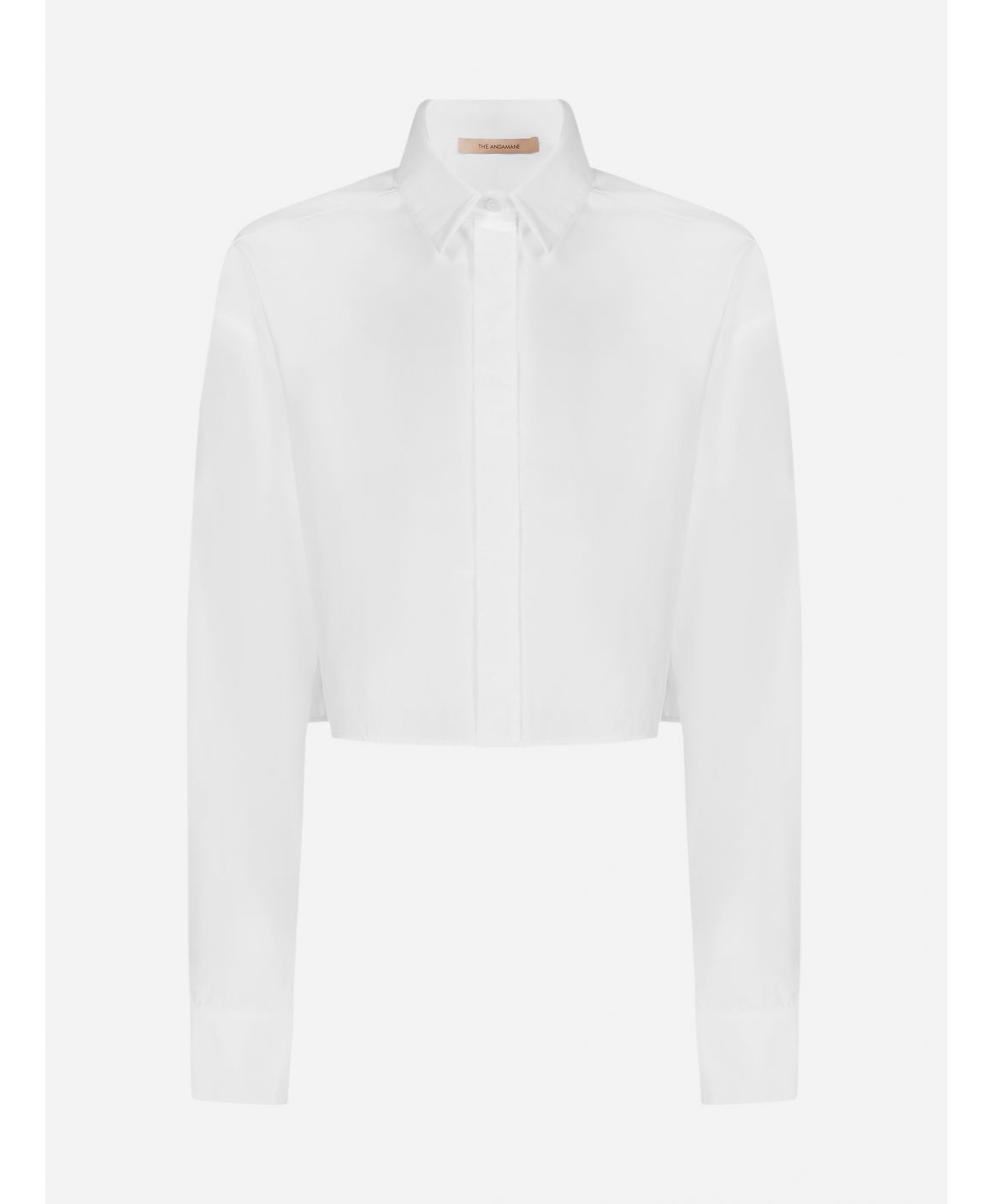 Georgiana cotton cropped shirt