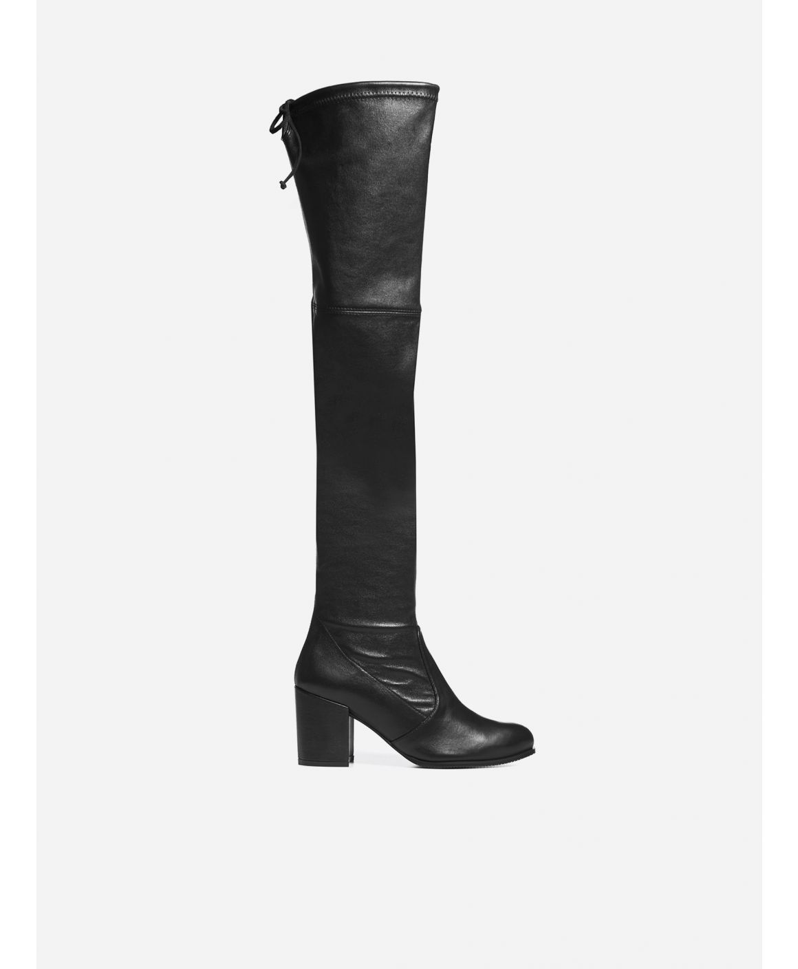 Tieland nappa leather over-the-knee boots