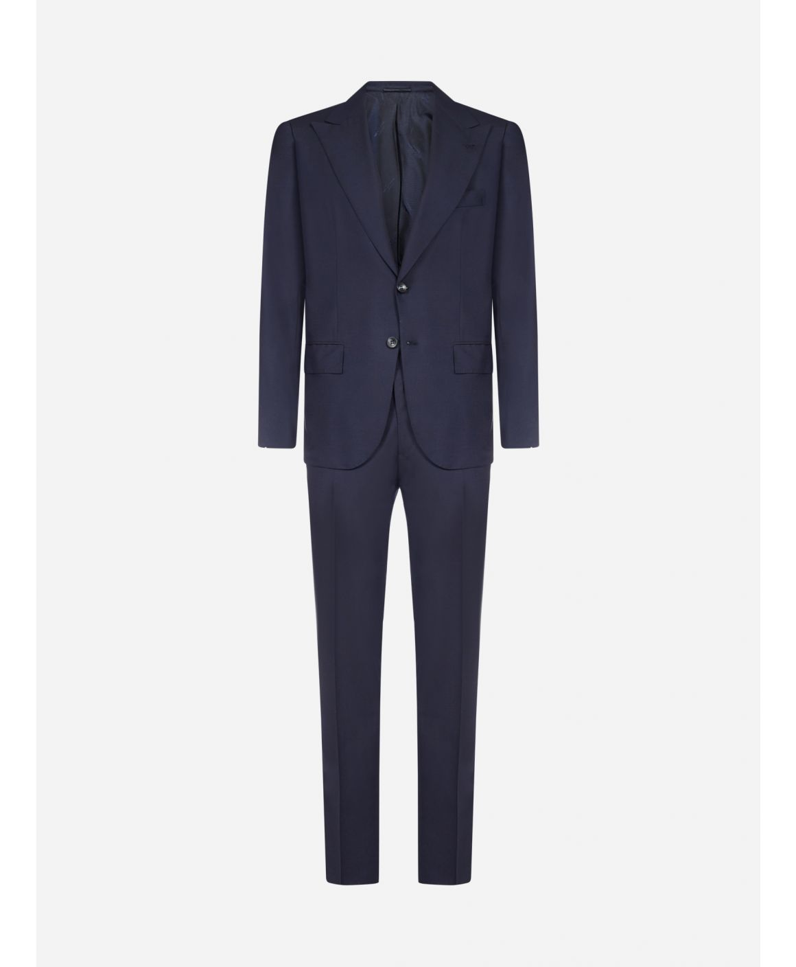 2-pieces tailored wool suit