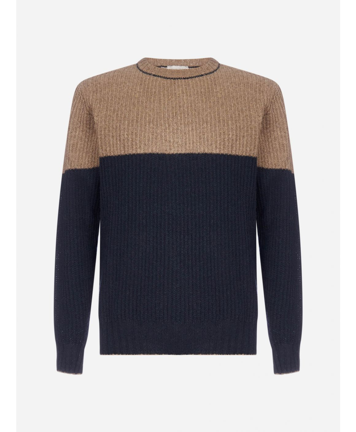 Amaury color-block wool sweater